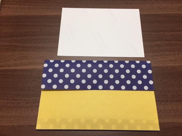 折り紙の封筒