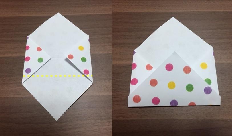 封筒の作り方 折り紙で簡単お金や写真を入れるのにもピッタリ 生活