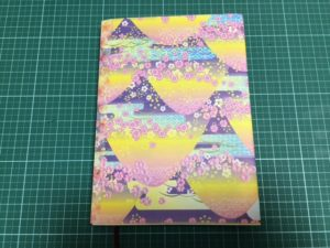 折り紙のブックカバー