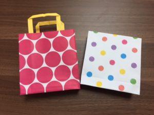 折り紙の紙袋
