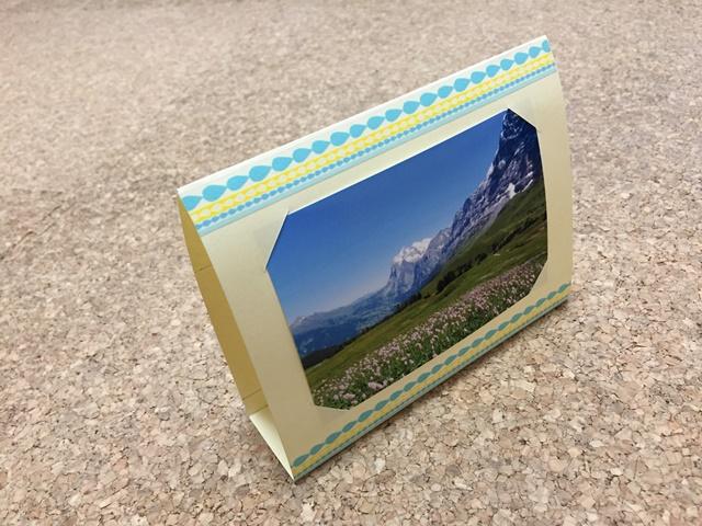 フォトフレームを手作り 画用紙で簡単!かわいい!プレゼント ...
