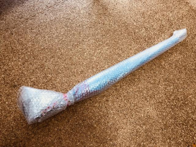 傘の梱包プチプチ巻き方10